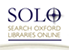 Search Oxford Libraries Online